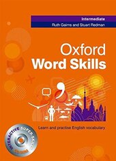 Oxford Word Skills Intermediate. Student's Book and CD-ROM - фото обкладинки книги