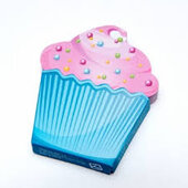 Папір для нотаток Cupcake Notes - фото обкладинки книги