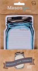 Папір для нотаток Mason Jar Sticky notes - фото обкладинки книги