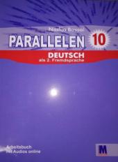 Parallelen 10 Arbeitsbuch mit Audios online - фото обкладинки книги