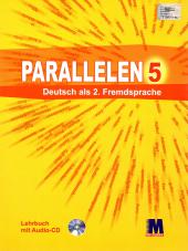 Parallelen 5 Lehrbuch mit CD - фото обкладинки книги