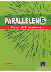 Посібник Parallelen 6 Lehrbuch mit CD