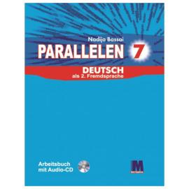 Parallelen 7 Arbeitsbuch mit Audio-CD - фото книги