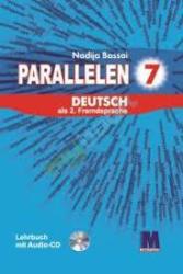 Parallelen 7 neu. Lehrbuch - Підручник для 7-го класу ЗНЗ + аудіосупровід NEU - фото обкладинки книги