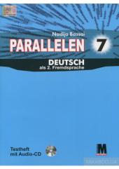 Parallelen 7 Testheft + Audio CD-MP3 - фото обкладинки книги