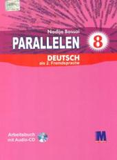 Посібник Parallelen 8 Arbeitsbuch mit Audio-CD