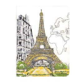 Paris Eiffel Tower Handmade Journal - фото книги