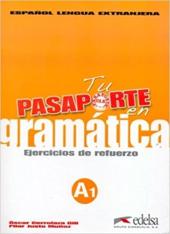 Pasaporte 1 (A1). En gramatica: Ejercicios de refuerzo (збірка вправ для опрацювання граматики) - фото обкладинки книги