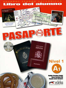Pasaporte 1 (A1). Libro del alumno + Audio CD - фото книги