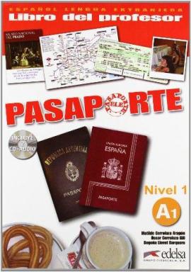 Pasaporte 1 (A1). Libro del profesor + Audio CD - фото книги