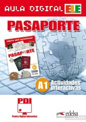 Pasaporte 1 (A1). Pizarra Digital Interactiva (програма для інтерактивної білої дошки) - фото обкладинки книги
