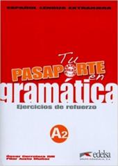 Pasaporte 2 (A2). En gramatica: Ejercicios de refuerzo (збірка вправ для опрацювання граматики) - фото обкладинки книги
