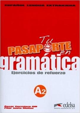 Pasaporte 2 (A2). En gramatica: Ejercicios de refuerzo (збірка вправ для опрацювання граматики) - фото книги
