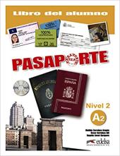 Pasaporte 2 (A2). Libro del alumno + Audio CD - фото обкладинки книги