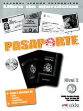 Pasaporte 2 (A2). Libro del ejercicios + Audio CD - фото обкладинки книги