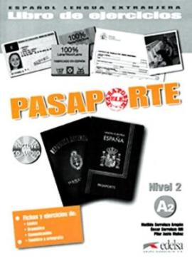 Pasaporte 2 (A2). Libro del ejercicios + Audio CD - фото книги