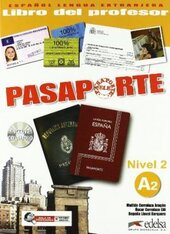Pasaporte 2 (A2). Libro del profesor + Audio CD - фото обкладинки книги