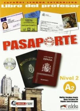 Pasaporte 2 (A2). Libro del profesor + Audio CD - фото книги