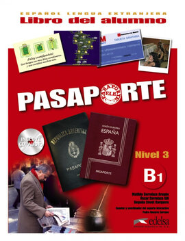 Pasaporte 3 (B1). Libro del alumno + Audio CD - фото книги