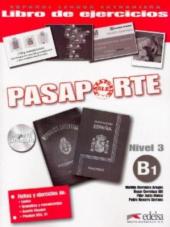 Pasaporte 3 (B1). Libro del ejercicios + Audio CD - фото обкладинки книги