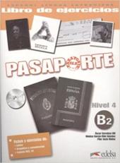Pasaporte 4 (B2). Libro del ejercicios + Audio CD - фото обкладинки книги