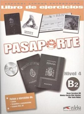 Pasaporte 4 (B2). Libro del ejercicios + Audio CD - фото книги