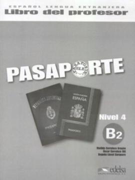 Pasaporte 4 (B2). Libro del profesor + Audio CD - фото книги