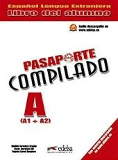 Pasaporte Compilado A (A1+A2). Libro del alumno - фото обкладинки книги