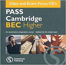 Аудіодиск Pass Cambridge Bec Higher