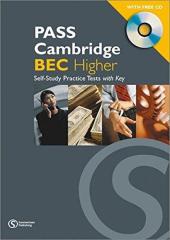 Pass Cambridge Bec Higher Self - Study Practice Tests with Key and CD - фото обкладинки книги