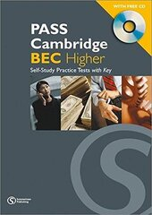 Pass Cambridge Bec Higher Self - Study Practice Tests with Key and CD - фото обкладинки книги