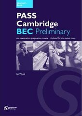 Pass Cambridge Bec Preliminary Teacher Book - фото обкладинки книги