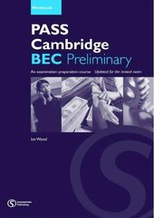Pass Cambridge Bec Preliminary Workbook - фото обкладинки книги