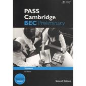 PASS Cambridge BEC Preliminary: Workbook - фото обкладинки книги