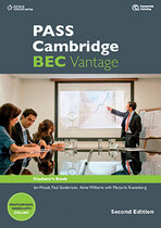 Аудіодиск PASS Cambridge BEC Vantage