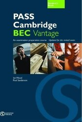 Pass Cambridge Bec Vantage Student Book - фото обкладинки книги