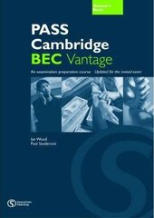 Pass Cambridge Bec Vantage Teacher's Book - фото обкладинки книги