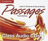Робочий зошит Passages Level 1 Class Audio CDs