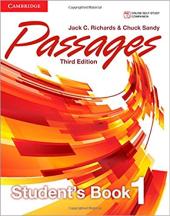 Passages Level 1 Student's Book - фото обкладинки книги