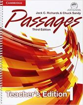 Passages Level 1 Teacher's Edition with Assessment Audio CD/CD-ROM - фото обкладинки книги
