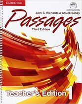 Посібник Passages Level 1 Teacher's Edition with Assessment Audio CD/CD-ROM