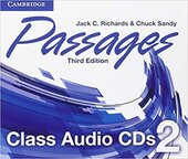 Робочий зошит Passages Level 2 Class Audio CDs