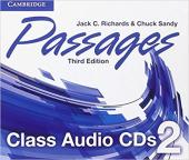 Підручник Passages Level 2 Class Audio CDs