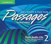 Passages Level 2 Class Audio CDs : An Upper-level Multi-skills Course - фото обкладинки книги