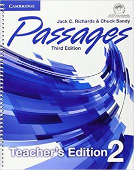 Книга для вчителя Passages Level 2 Teacher's Edition with Assessment Audio CD/CD-ROM