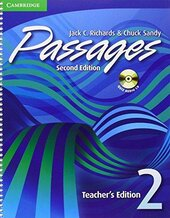 Passages Level 2 Teacher's Edition with Audio CD : An upper-level multi-skills course - фото обкладинки книги