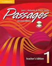 Passages Teacher's Edition 1 with Audio CD : An upper-level multi-skills course - фото обкладинки книги