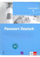Passwort Deutsch 1 Lehrerhandbuch - фото обкладинки книги