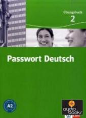 Passwort Deutsch 2 Arbeitsbuch A2 - фото обкладинки книги