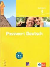 Passwort Deutsch 3 Arbeitsbuch В1 - фото обкладинки книги